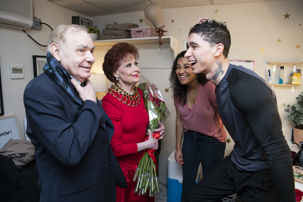 Photo Flash: Original Stars Carol Lawrence and Jaime Sanchez Return to WEST SIDE STORY