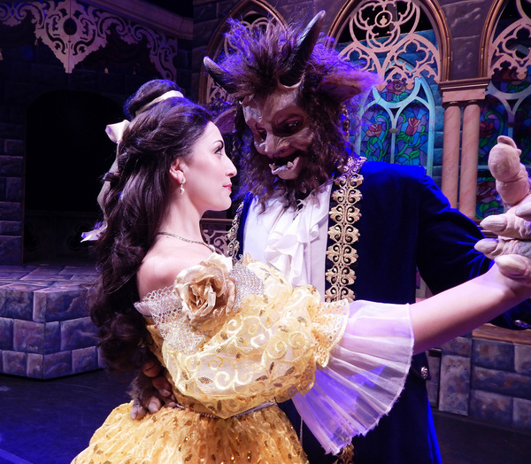 Photo Flash: First Look at DISNEY'S BEAUTY AND THE BEAST - Now Playing At The LPAC