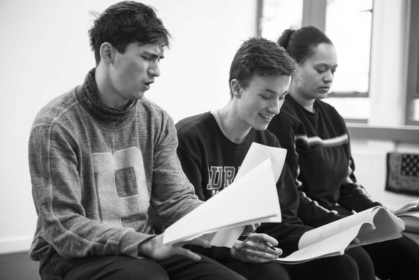 Photo Flash: Inside Rehearsals For DUMBLEDORE IS SO GAY