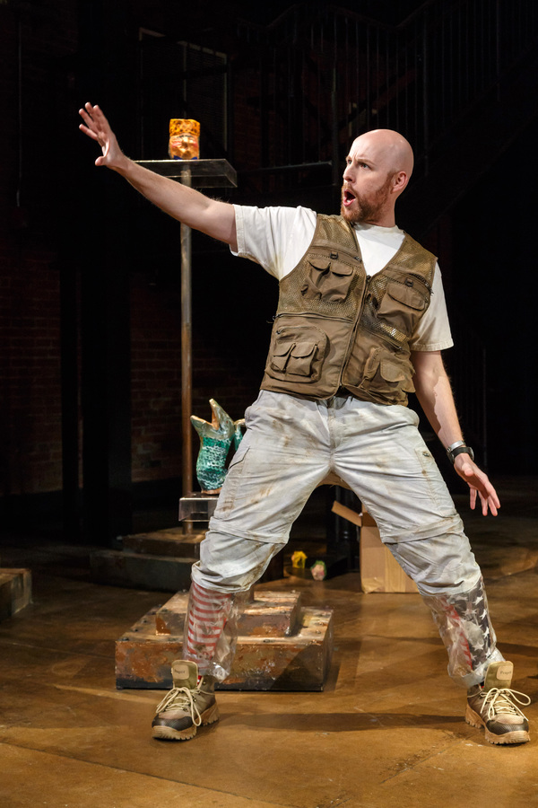 Photo Flash: Take a Look Inside Dress Rehearsal for THE LAST AMERICAN HAMMER at Pittsburgh Opera