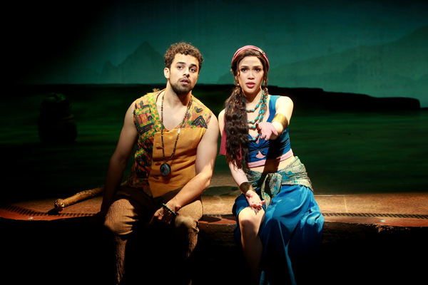 Photo Flash: First Look at THE PRINCE OF EGYPT in the West End