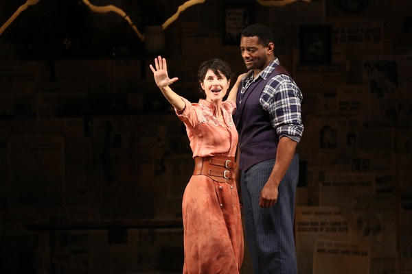 Photo Flash: Take a Look at Beth Malone, David Aron Damane and More in THE UNSINKABLE MOLLY BROWN