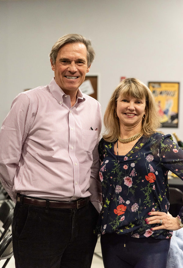 TheatreWorks Board Chair Roy Johnson and TheatreWorks Trustee Holly Ward Photo