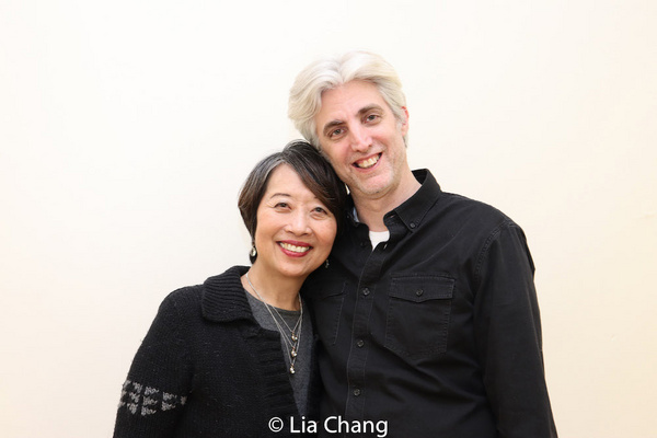 Jeanne Sakata, Zak Berkman Photo