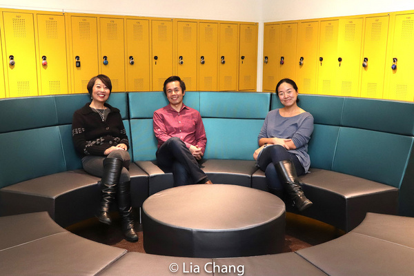 Jeanne Sakata, Steven Eng and Desdemona Chiang Photo