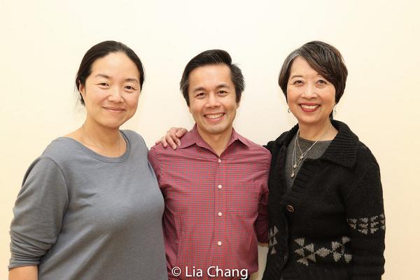 Desdemona Chiang, Steven Eng, Jeanne Sakata Photo