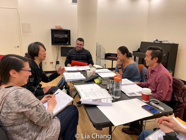 Gina Pisasale, Jeanne Sakata, Matthew Luppino, Desdemona Chiang, Steven Eng Photo