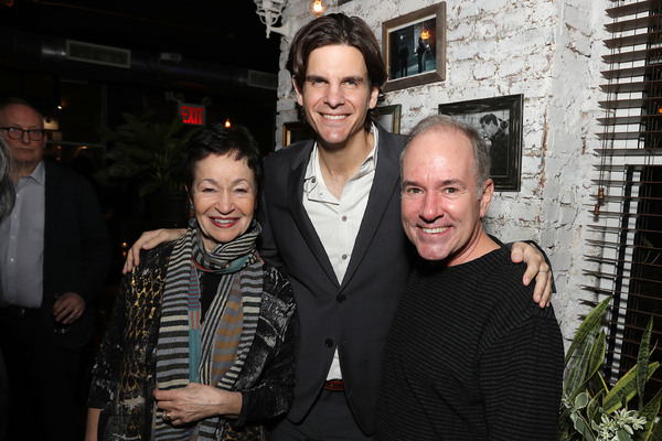 Lynn Ahrens, Alex Timbers and Stephen Flaherty Photo