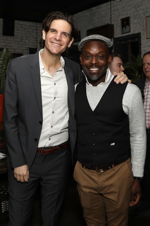Alex Timbers and Sahr Ngaujah Photo