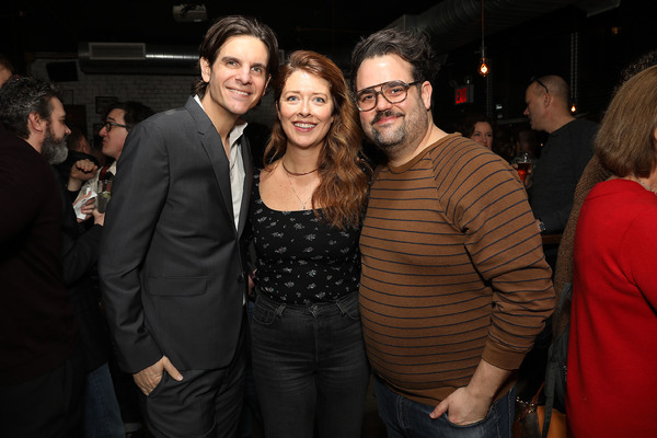 Alex Timbers, Nadia Quinn and Greg Hildreth Photo