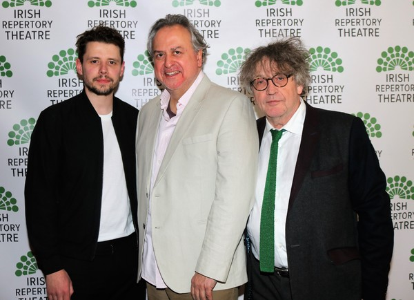 Sam Yates, Stanley Townsend and Paul Muldoon Photo