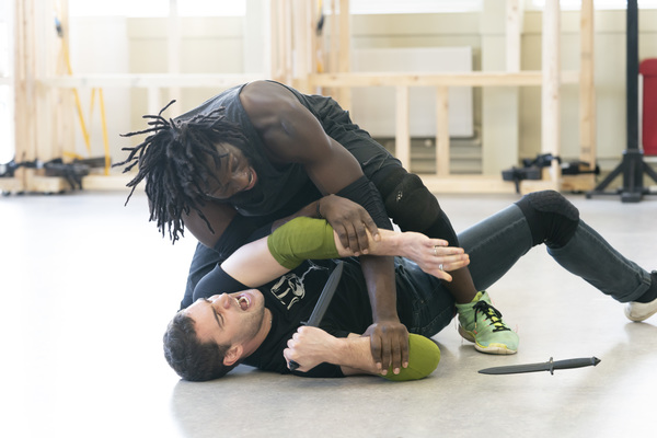 Photo Flash: Inside Rehearsal For CORIOLANUS at Sheffield Theatres