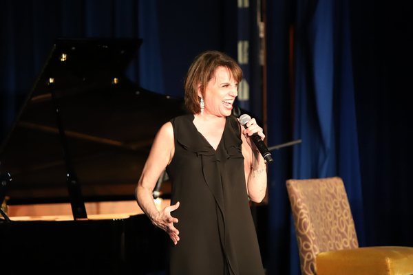 Beth Leavel and Seth did a show featuring songs not just from 42nd ST, SHOWBOAT, STEE Photo