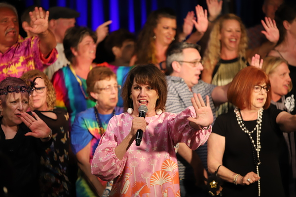 "Beth Leavel recreated one of her big songs from her stint in ""Mamma Mia"" and the pass Photo"