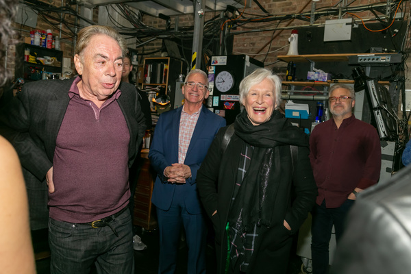 Andrew Lloyd Webber, Glenn Close Photo