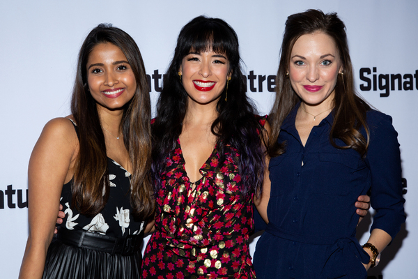 Shoba Narayan, Courtney Reed, Laura Osnes Photo