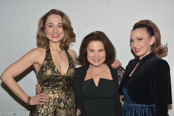 Lianne Marie Dobbs, Tovah Feldshuh and Jenny Lee Stern Photo