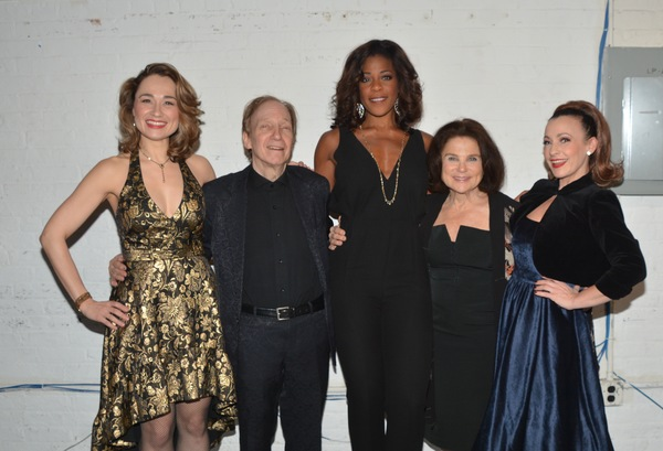 Lianne Marie Dobbs, Scott Siegel, Nicole Henry, Tovah Feldshuh and Jenny Lee Stern Photo