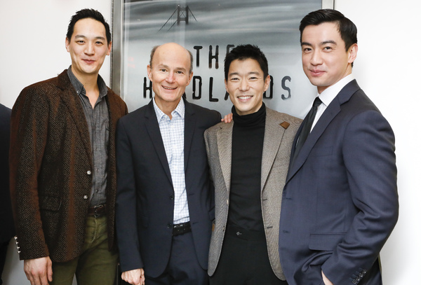 Edwards Chin-Lyn, Henry Stram, Aaron Yoo, and Johnny Wu  Photo
