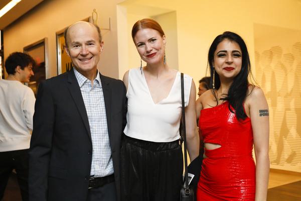 Henry Stram, Mahira Kakkar and Kate MacCluggage  Photo