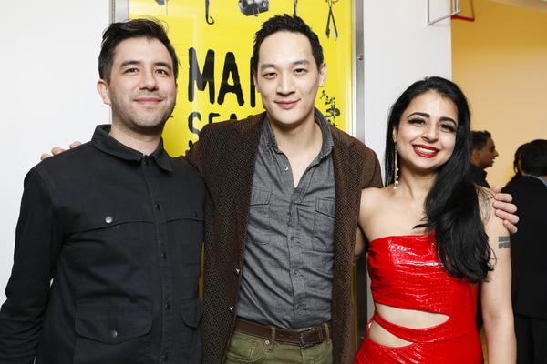 Christopher Chen, Edward Chin-Lyn and Mahira Kakkar Photo