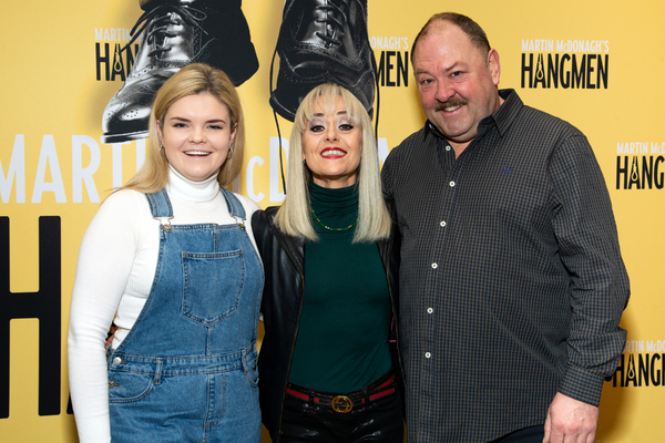 Gaby French, Tracie Bennett, Mark Addy Photo