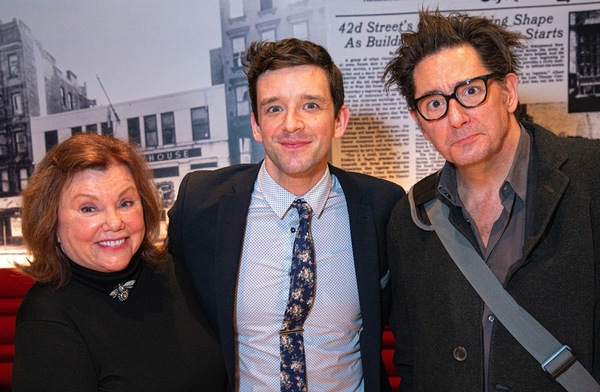 Marsha Mason, Michael Urie, Reg Rogers Photo