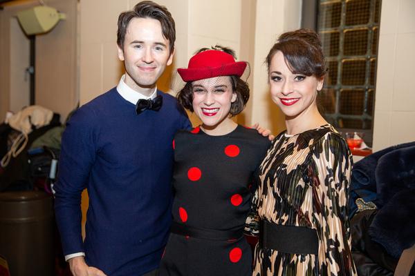 Garett Hawe, Alexandra Socha, and Sara Esty Photo