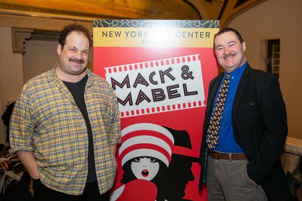 Jordan Gelber and Allen Lewis Rickman Photo