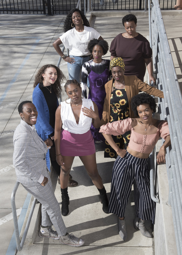 Photo Flash: Meet the Cast of SCHOOL GIRLS; OR, THE AFRICAN MEAN GIRLS PLAY at Berkeley Rep