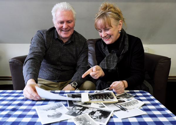 Photo Flash: Rehearsals Begin For MAGGIE MAY By Queen's Theatre Hornchurch, Leeds Playhouse And Curve