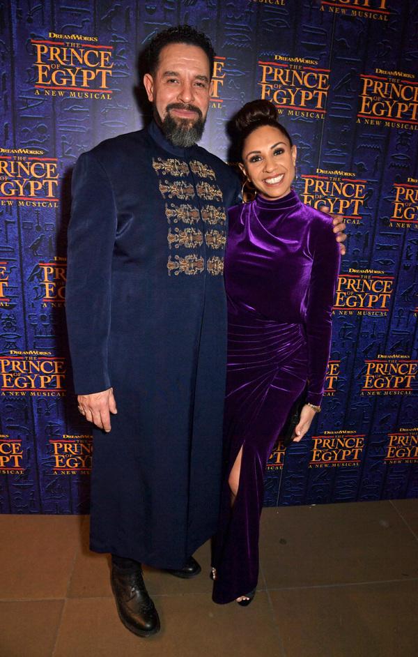 Joe Dixon and Debbie Kurup  Photo