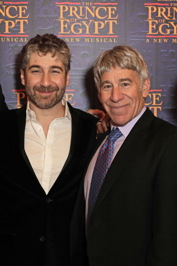 Director Scott Schwartz and Composer Stephen Schwartz  Photo