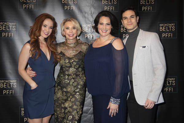 Sierra Boggess, Julie Halston, Lisa Howard and Jason Gotay Photo
