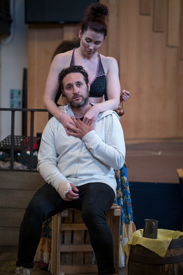 Antony Costa and Genevieve Nicole Photo