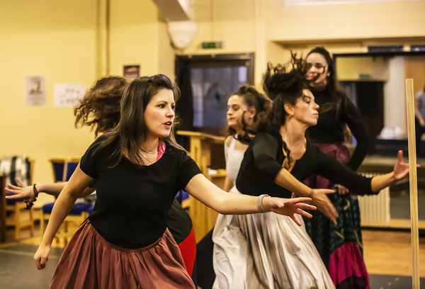 Photo Flash: Head Inside Rehearsal for ZORRO THE MUSICAL at Hope Mill Theatre