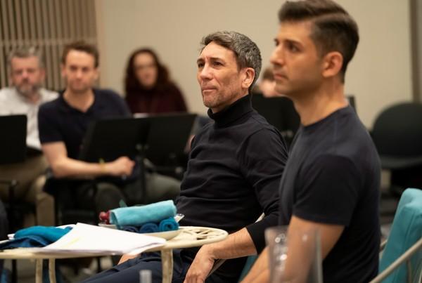 Robert Sella and Tony Yazbeck  Photo