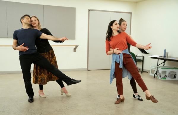 Tony Yazbeck, Emily Pynenburg, Melinda Sullivan and Michelle Dorrance Photo