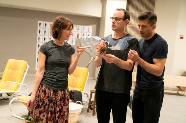 Photo Flash: Go Inside Rehearsals for FLYING OVER SUNSET with Carmen Cusack, Tony Yazbeck, Harry Hadden-Paton & More