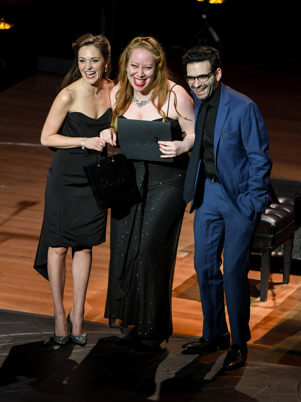 Laura Osnes, Jennifer Ashley Tepper, and Joe Iconis Photo