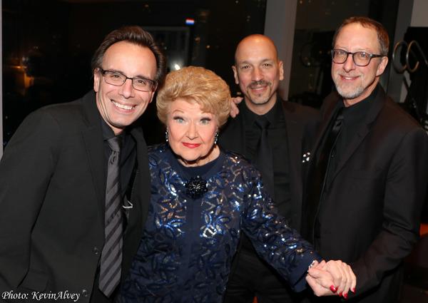 Tedd Firth, Marilyn Maye, Phil Palombi, Todd Strait Photo