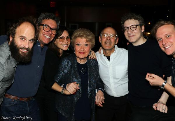 Gina Gershon, Marilyn Maye, David Kuhn Photo