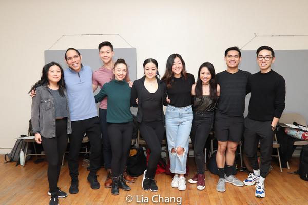 Photo Flash: Ali Ewoldt, Ann Harada, and More In Rehearsal For National Asian Artists Project's Concert Of Rodgers & Hammerstein's CINDERELLA