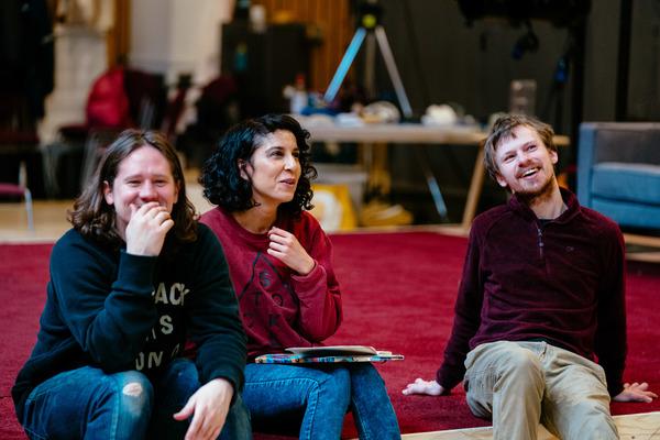 Bryan Dick, Mariam Haque, Christopher John-Slater  Photo