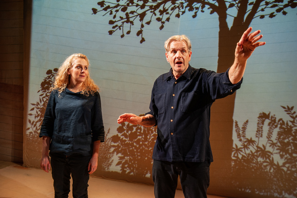 Robert Bathurst, Rebecca Johnson Photo