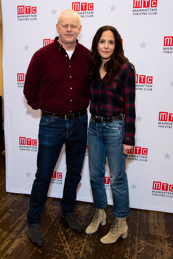 David Morse, Mary-Louise Parker Photo