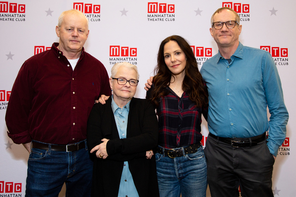 David Morse, Paula Vogel, Mary-Louise Parker, Mark Brokaw Photo
