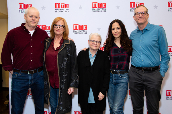 David Morse, Johanna Day, Paula Vogel, Mary-Louise Parker, Mark Brokaw Photo