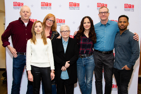 David Morse, Alyssa May Gold, Johanna Day, Paula Vogel, Mary-Louise Parker, Mark Brok Photo