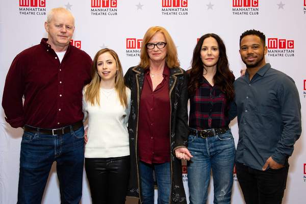 David Morse, Alyssa May Gold, Johanna Day, Mary-Louise Parker, Chris Myers Photo
